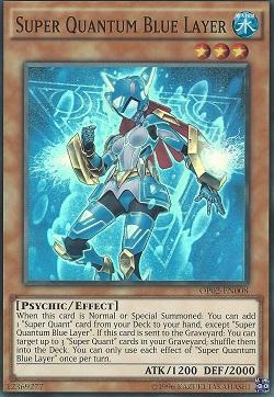 Super Quantum Blue Layer